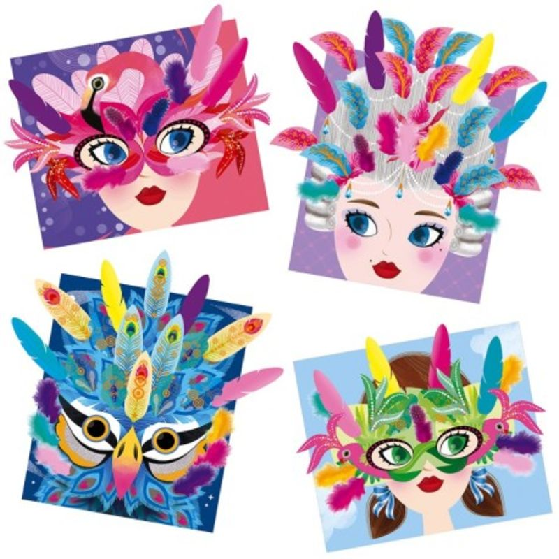 Mascaras ¡viva Las Plumas! -