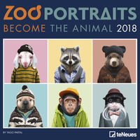 CALENDARIO 2018 - ZOO PORTRAITS (30X30) (95439)