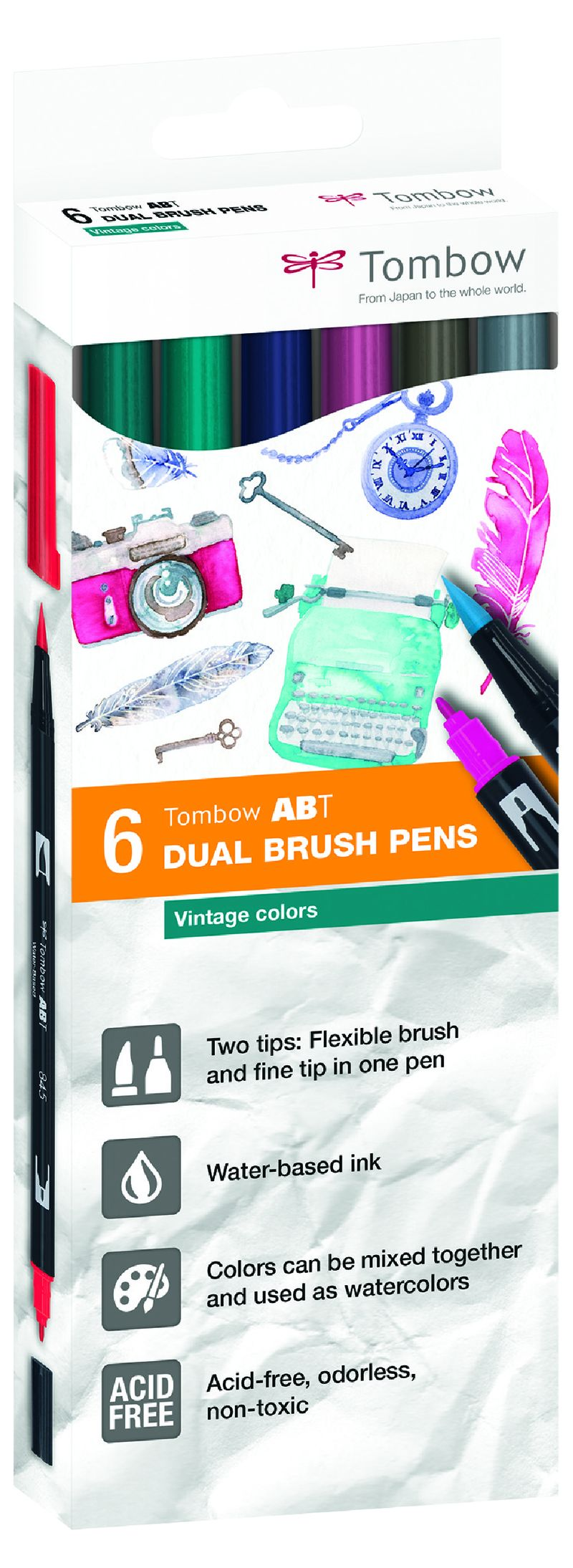 EST.6 DUAL BRUSH ROTULADORES PINCEL