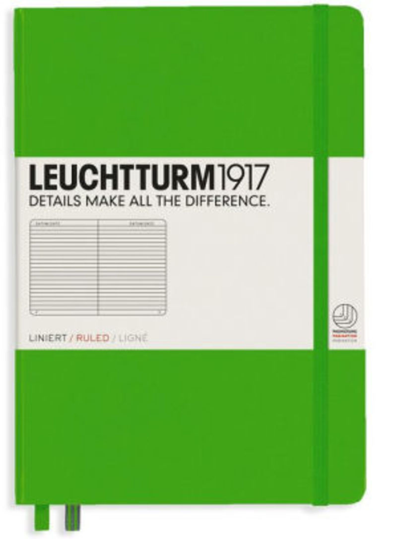 Notebook Medium A5 T. D. Lineas Verde Fresco R: 357488 -