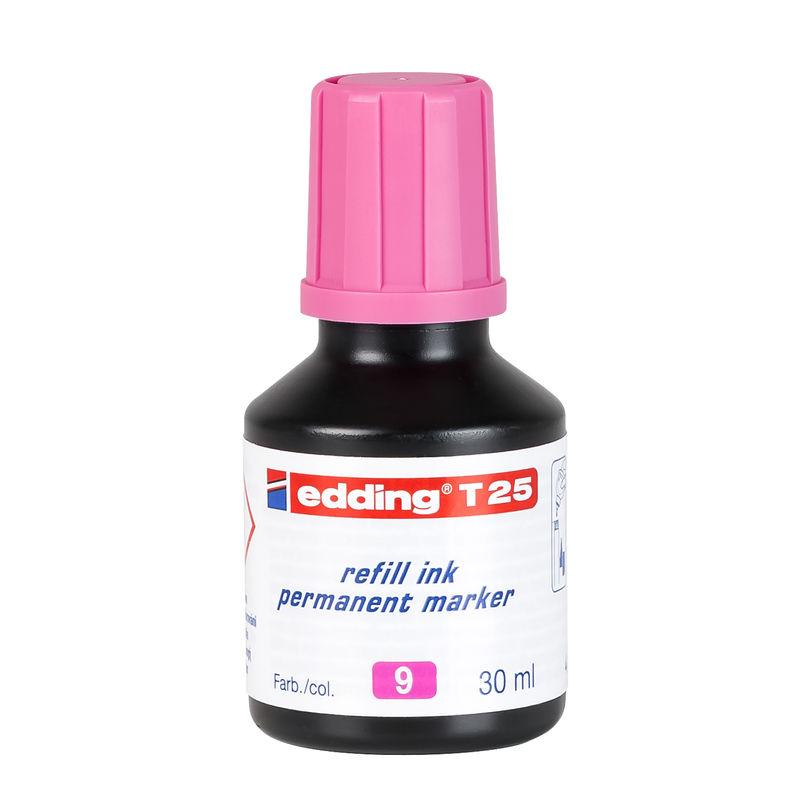 TINTA EDDING FCO. 25CC ROSA R: T25-09