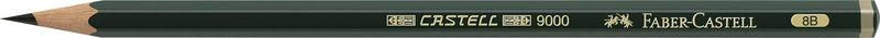 C / 12 LAP. CASTELL 9000-8B R: 119008