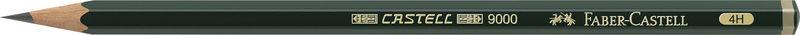 C / 12 LAP. CASTELL 9000-4H R: 119014
