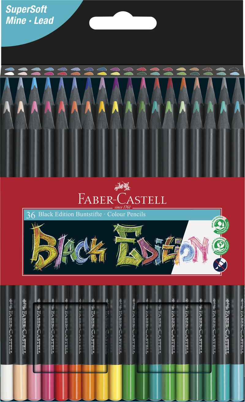 EST / 36 LAPICES COLORES BLACK EDITION R: 116436