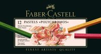 ESTUCHE 12 TIZAS PASTEL POLYCHROMOS 9280 FABER CASTELL