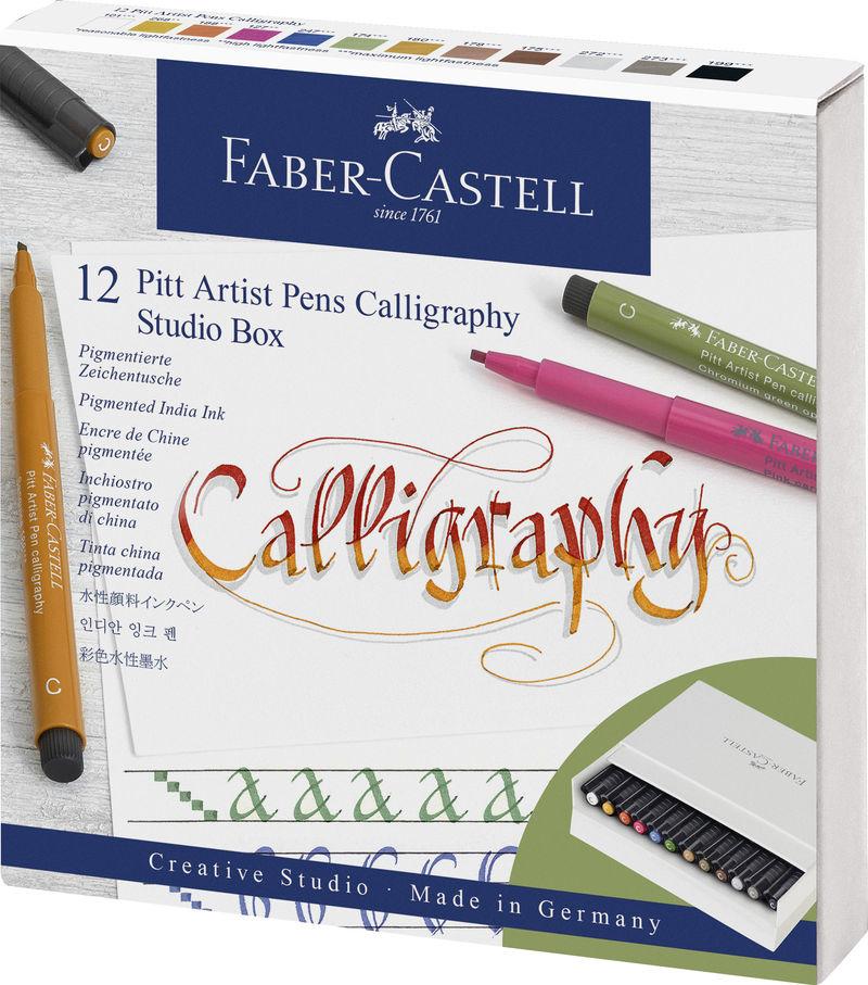 STUDIO BOX 12 ROTULADORES PITT ARTIST PEN CALLIGRAPHY