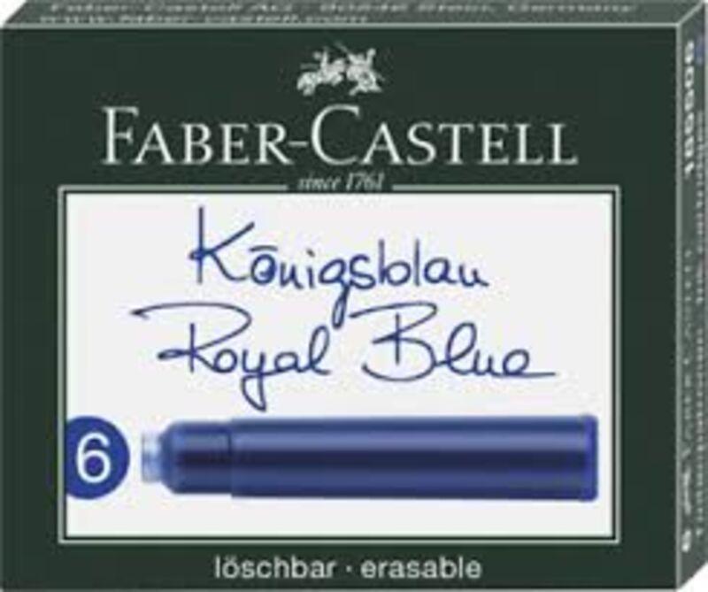 C / 6 Cartuchos Tinta Azul Royal R: 185506 -