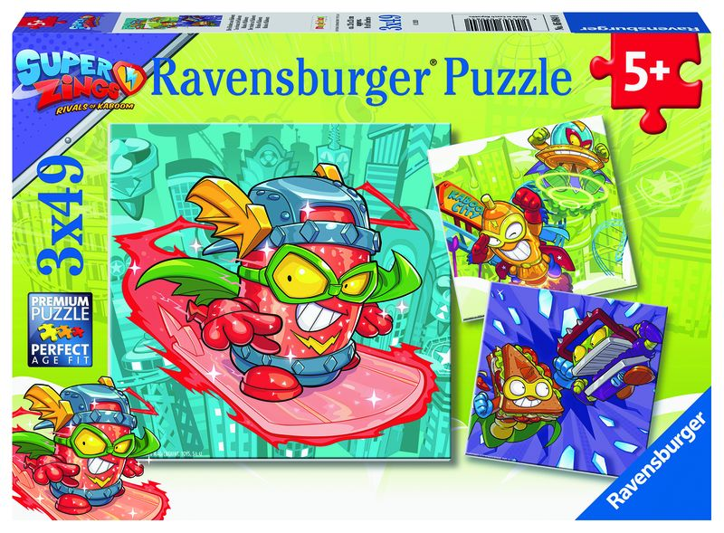 PUZZLE 3x49 SUPER ZINGS