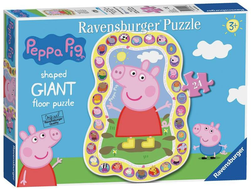 PUZZLE GIANT * PEPPA PIG