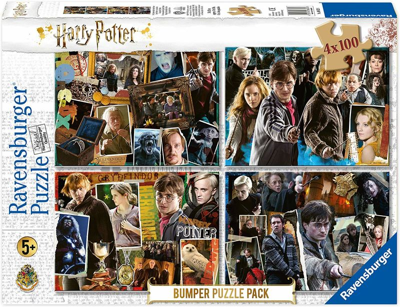 PUZZLE 4x1000 * HARRY POTTER