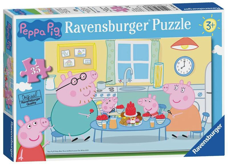 peppa pig * puzzle 35pcs -