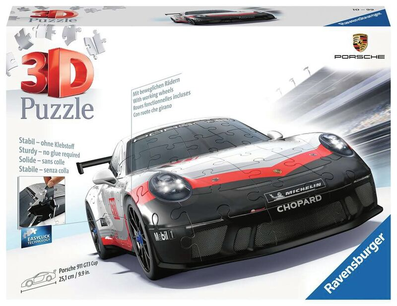 PUZZLE 3D * PORSCHE GT3 CUP