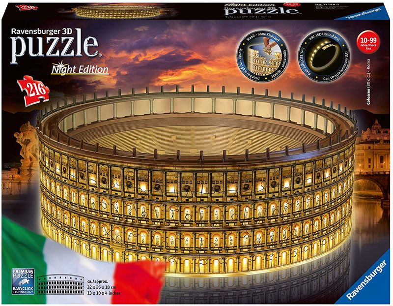 PUZZLE 3D * COLOSSEO NIGHT EDITION