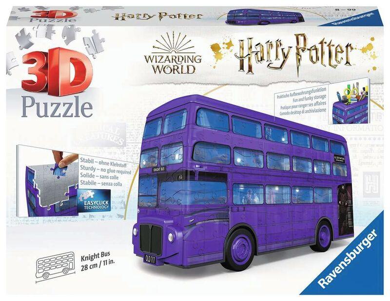 PUZZLE 3D * AUTOBUS NOCTAMBULO DE HARRY POTTER