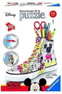 3D PUZZLE * SNEAKER DISNEY MICKEY - PORTALAPICES R: 12055