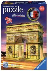 3D PUZZLE * ARCO DEL TRIUNFO NIGHT EDITION R: 12522