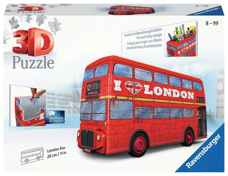 PUZZLE 3D * LONDON BUS