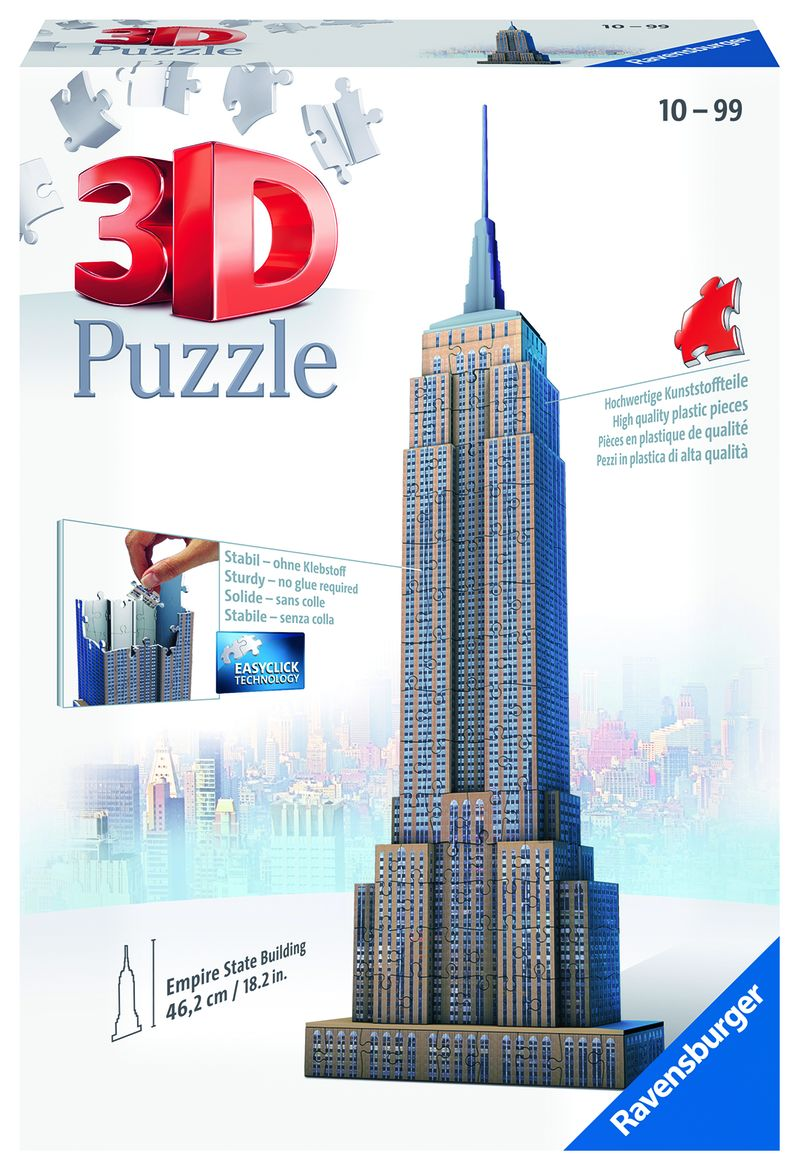 PUZZLE 3D * EMPIRE STATE BUILDING