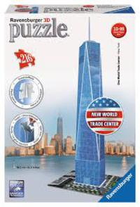 3D PUZZLE FREEDOM TOWER R: 12562