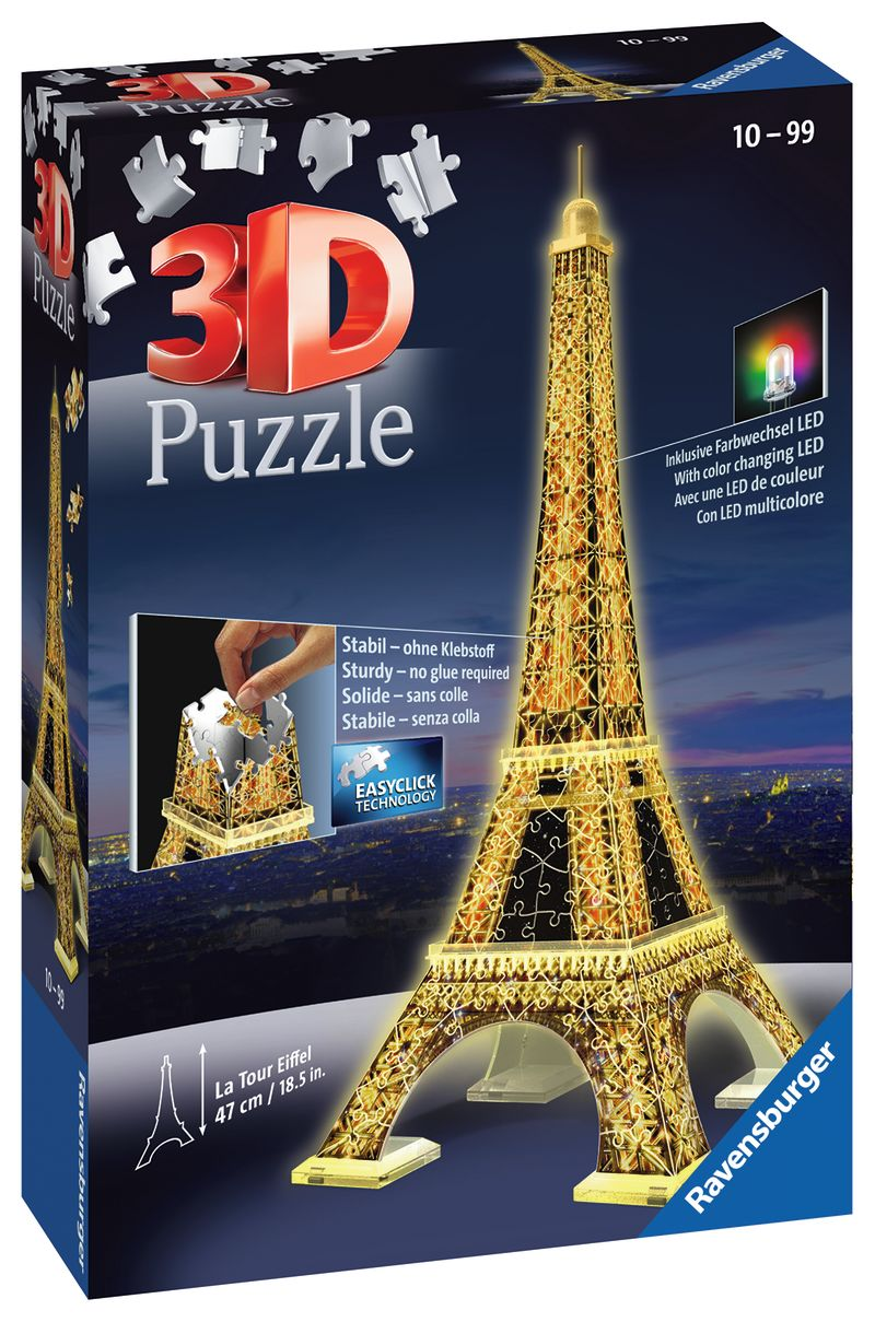 3D PUZZLE TORRE EIFFEL NIGHT EDITION R: 12579