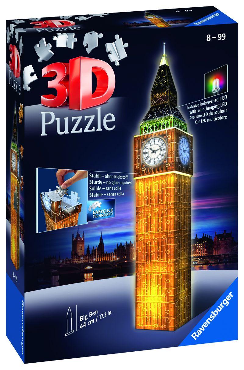 PUZZLE 3D * BIG BEN NIGHT EDITION