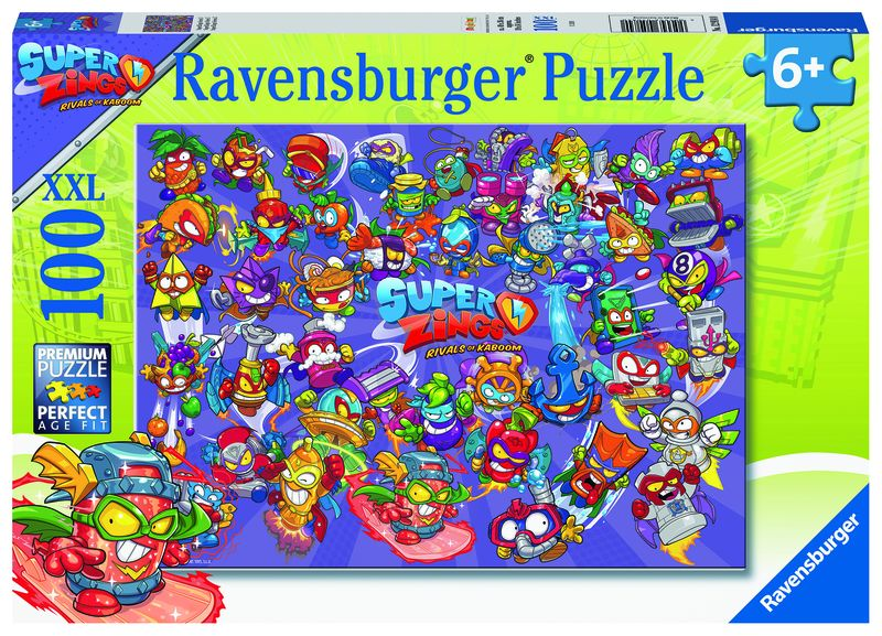 PUZZLE 100 * SUPER ZINGS