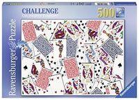 PUZZLE 500 * 52 CARTE R: 14800