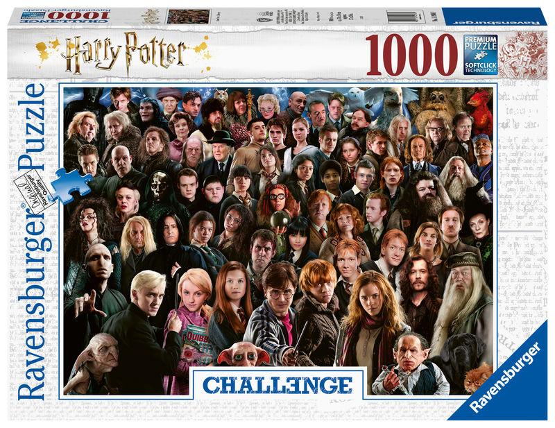 PUZZLE 1000 * CHALLENGE PUZZLE HARRY POTTER