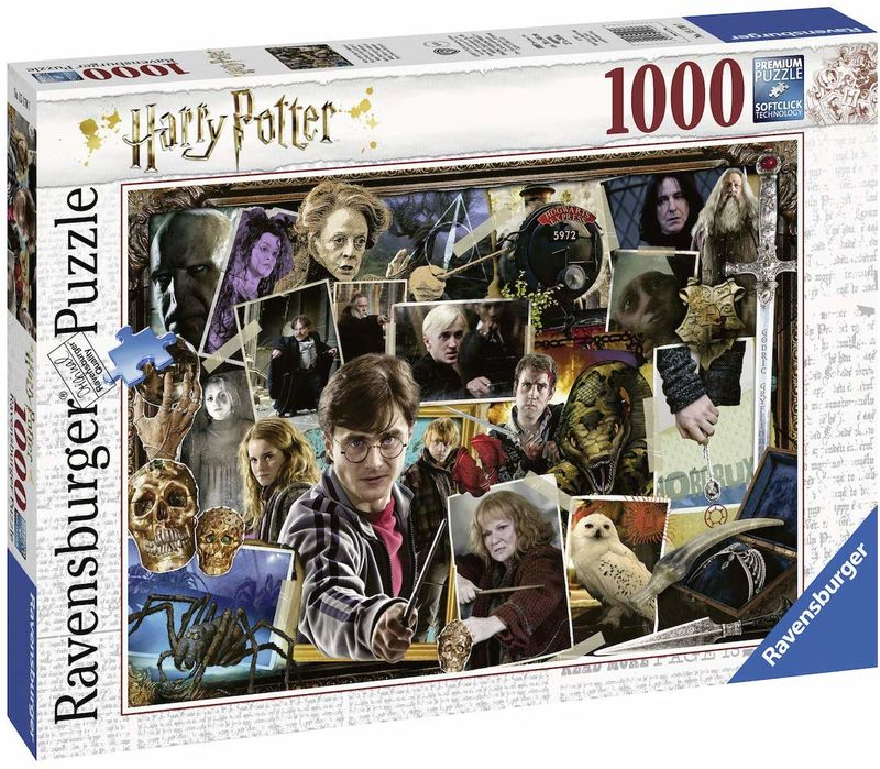 PUZZLE 1000 FANTASY HARRY POTTER VS VOLDEMORT