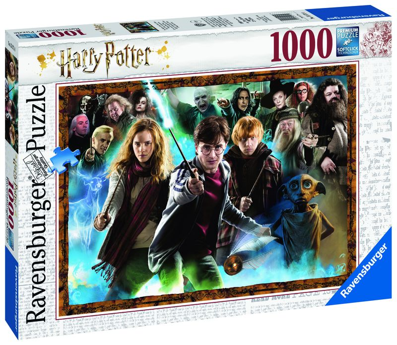 PUZZLE 1000 FANTASY EL MAGO HARRY POTTER