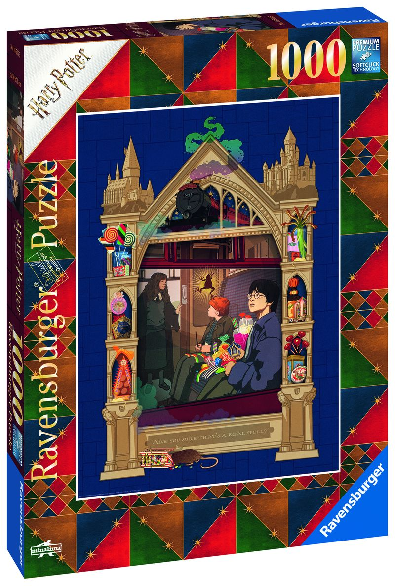 PUZZLE 1000 * HARRY POTTER C BOOK EDITION
