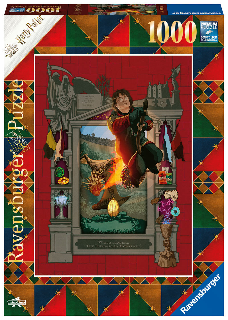 PUZZLE 1000 * HARRY POTTER B BOOK EDITION