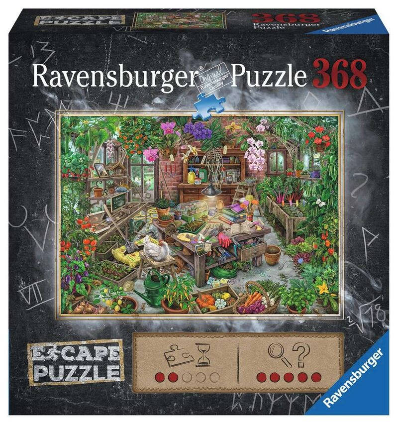 ESCAPE PUZZLE 759 * THE GREEN HOUSE (368 PZ)
