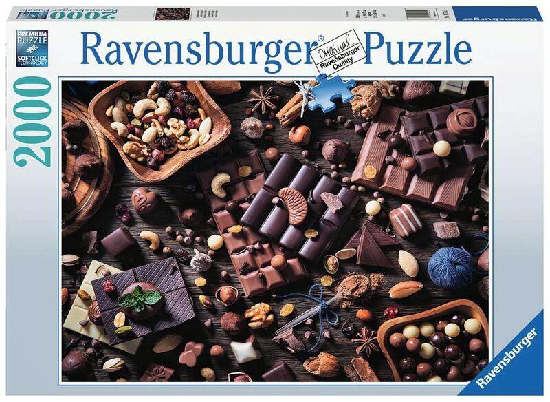 PUZZLE 2000 * PARAISO DE CHOCOLATE