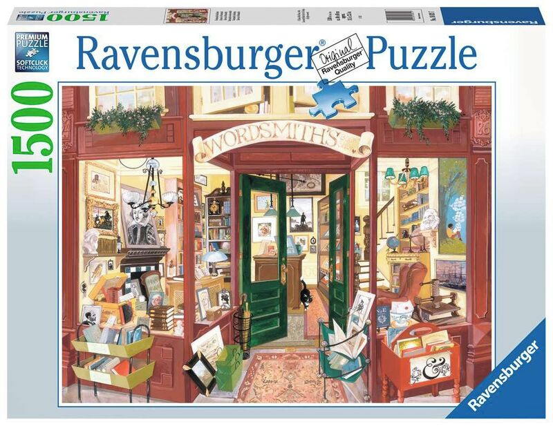 PUZZLE 1500 * LIBRERIA DE WORDSMITH