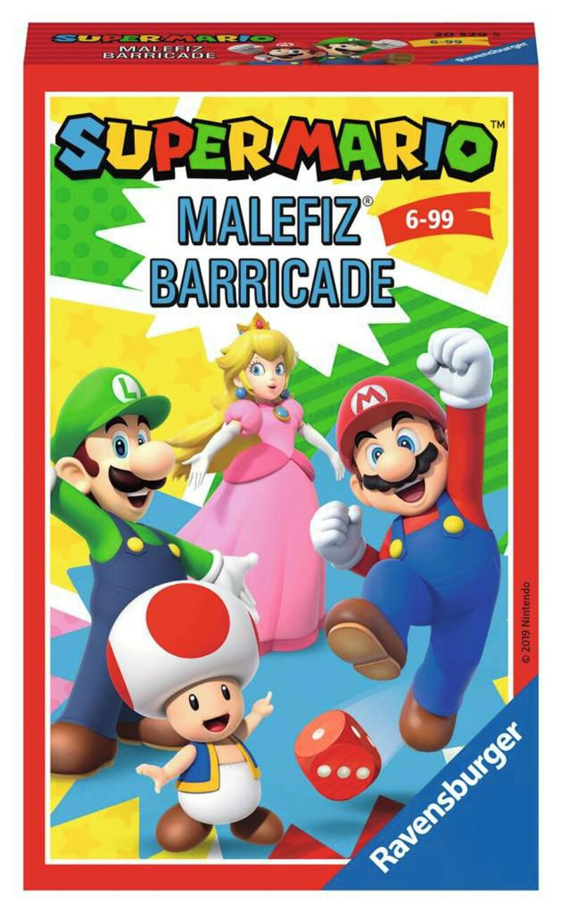 TRAVEL GAMES * SUPER MARIO