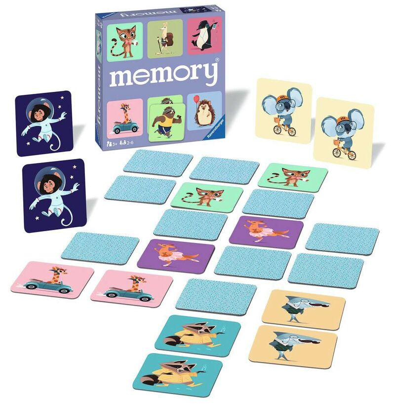 memory® happy animals -