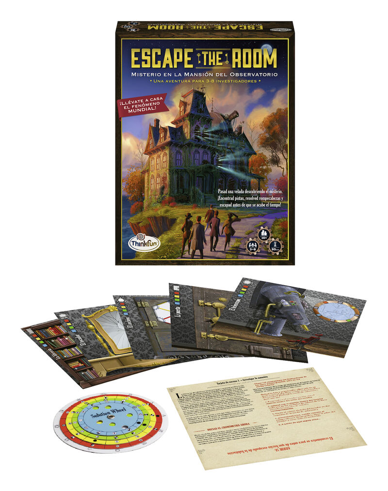 ESCAPE THE ROOM * MISTERIO EN LA MANSION R: 76314