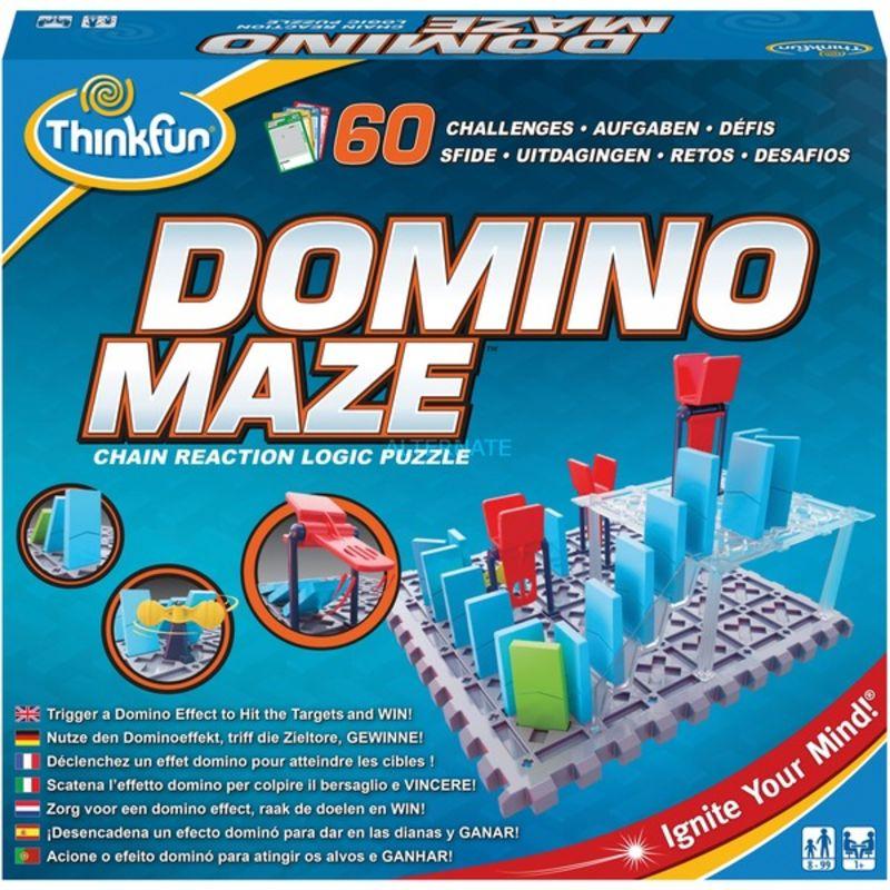 Domino Maze -