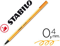 C / 10 STABILO POINT 88 FLUO NARANJA R: 88054