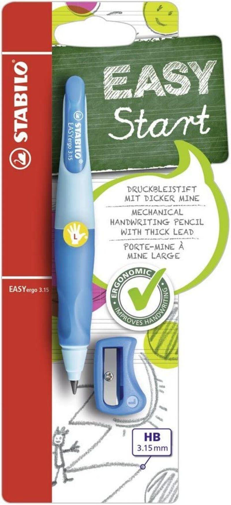 Portaminas Easyergo 3, 15 Zurdos Azul + Sacapuntas R: B468673 -