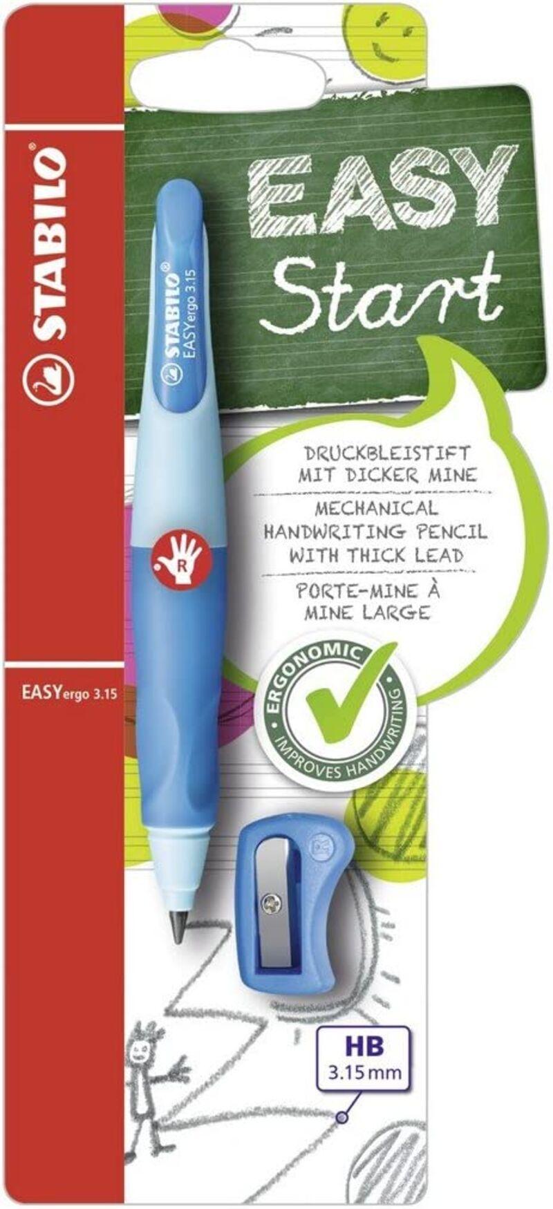 Portaminas Easyergo 3, 15 Azul + Sacapuntas R: B468735 -