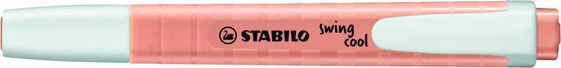 C / 10 MARCADORES STABILO SWING COOL PASTEL MELOCOTON R: 275 / 126-8