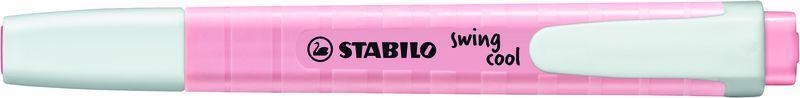C / 10 MARCADORES STABILO SWING COOL PASTEL RUBOR ROSA R: 275 / 129-8