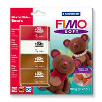 "FIMO SOFT * KITS FOR KIDS ""BEARS"" R: 802431L2"
