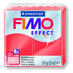 FIMO EFFECT * PAST. 56gr TRANSLUCIDO ROJO R: 8020204