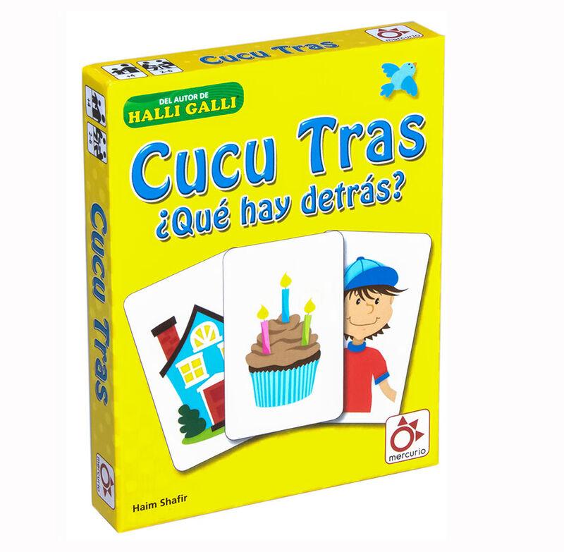 CUCU TRAS - ¿ QUE HAY DETRAS ? R: A0030