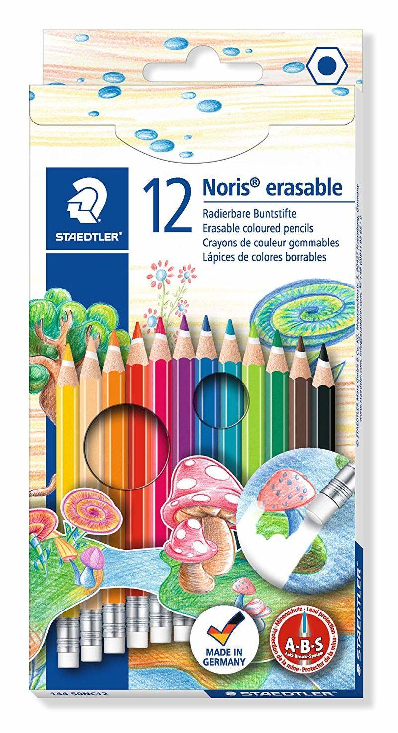 EST / 12 LAPIZ DE COLOR NORIS ERASABLE R: 14450NC12
