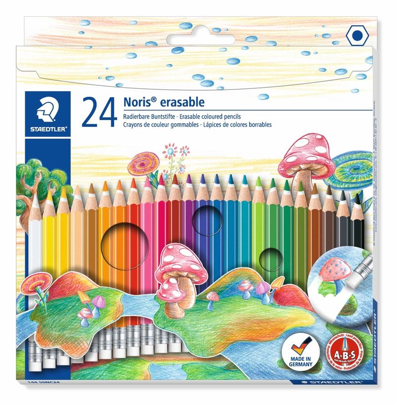 EST / 24 LAPIZ DE COLOR NORIS ERASABLE R: 14450NC24