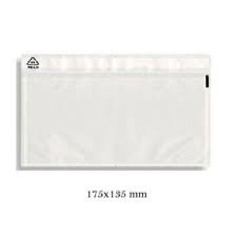 """C / 250 Sobres """"packing List"""" 175x135 Tira Adhesiva -"""